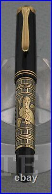 New! Fountain Pen Pelikan Toledo M 700 Nib Ef Complete Box
