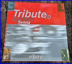 New Montegrappa Sterling 1995 Ayrton Senna Ftn Pen #543/1960 LE MEDIUM 18K Nib
