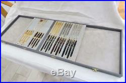 New O/s 36 Parker Sonnet's 1993 Launch 9 X 4 Piece Sets Sterling Silver & Laque