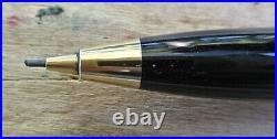 New Pelikan D350 Vermeil Cap Pencil Black with Gold Trim 0.5mm