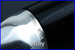 OMAS Black Sterling Silver Doctors Limited Edition Fountain Pen 0467/1500