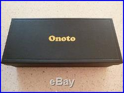 ONOTO OVERLAY No 1 STERLING SILVER LIMITED EDITION FOUNTAIN PEN MINT & BOXED