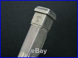 Old Early Yard O Led Pr Silver Sterling Pencil Pen England