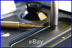 Omas For Maserati Fountain Pen 18k NIB 925 Sterling Silver Limited Ed $2850