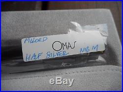 Omas Millord La Preziose Half Sterling Silver Fountain Pen M202