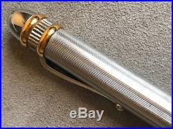 Original Rolex Masterpiece Collection Sterling Silver & 18k Deluxe Heavy Pen