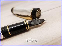 PARKER Duofold Centennial Sterling Silver Fountain Pen, MINT
