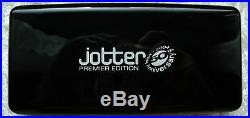 PARKER PREMIER JOTTER 2004 JUBILEE LTD EDITION STERLING SILVER Black
