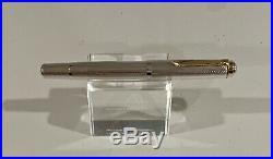 PELIKAN M750 1838-1988 150th Anniversary Jubilee Silver 14C 585 B Two Tone Nib