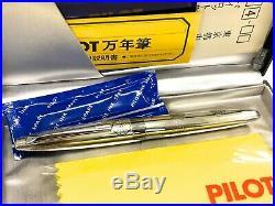 PILOT CUSTOM STERLING SILVER KAMON 14K-585 H1086 NEW from Japan