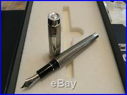 PLATINUM 100th Anniversary L. E The Prime Sterling Silver Pen FREE SHIPPING
