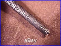 Parker 180 Torsade, Silver & Black Cable Twist, Cf, Little Used, 18k Nib, Outsdg