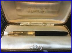 Parker 51 Special Edition Black Vermeil Fountain Pen