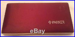 Parker 75 3 Pen Set Grid Pattern Cisele Sterling Silver Close To Mint And Box