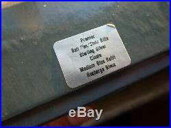 Parker 75 Cisele Sterling Silver 3 Pen Set Completely Original Minimal Use
