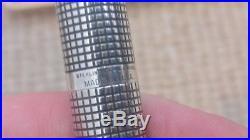Parker 75 Cisele Sterling Silver Fountain pen set @ $1 Reserve