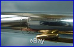 Parker 75 Classic Solid Sterling Silver Keepsake Ball Pen, Near Mint, In Box