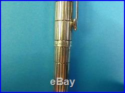 Parker 75 Damier Pattern. 1974. Solid sterling Silver Ballpoint with Hallmarks