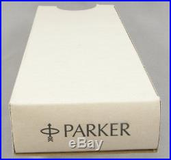 Parker 75 Sterling Silver Cisele & Gold Rollerball Pen In Box 1985 France