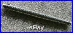 Parker 75 TIFFANY AMBASSADOR Sterling Silver Fountain Pen 18K M Nib