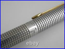 Parker Classic Cisele Sterling Silver SPANISH TREASURE FLEET 1715 Ballpoint Pen