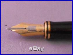 Parker Duofold Centennial Sterling Silver Founain Pen-medium l8k nib-new