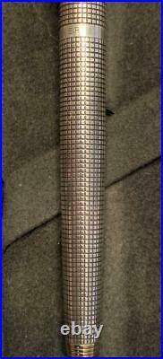 Parker Fountain Pen Sterling Silver Nib 14K XF