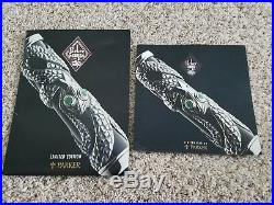 Parker Limited Edition Sterling Silver Snake Pen New In Box With All Paperwork
