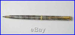 Parker Premier Sterling Silver Ballpoint Pen New In Box