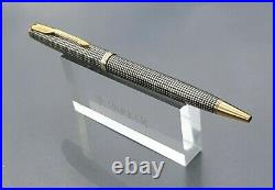 Parker Sonnet Sterling Silver Cisele Ballpoint Pen Blue Refill Mint