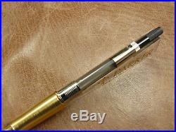 Parker Sonnet Sterling Silver Cisele/black Fountain Pen 18k M Nib New In Box
