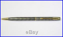 Parker Sterling Silver Ciselle Ballpoint Pen New In Box Made In France