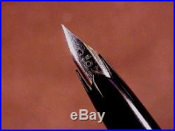 Platinum Galaxy Sterling Pen (japan), Cf, Gpt, 18kt Semi-hooded Nib, Orig Box