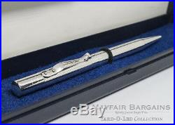Pristine Yard O Led Viceroy Solid Silver Pen 1999 London