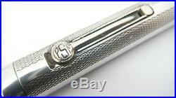 Psf Fountain Pen, Sterling Silver Overlay, Full Flex 14k Medium Nib, France