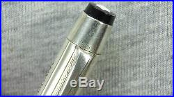 RARE VINTAGE 1950s STERLING SILVER 935 MONTBLANC GERMANY 4 COLORS BALLPOINT PEN