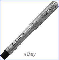 RARE Waterman Lady Patricia Sheraton 925 Sterling Silver Lever Fountain Pen