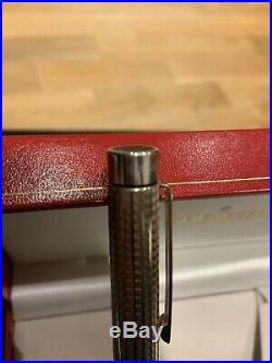 Rare Mint Sheaffer Classic Pens Cp1 Sterling Silver Targa Fountain Pen-117/250