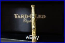 Rare vintage YARD-O-LED Viceroy Grand sterling Victorian pen/never polished