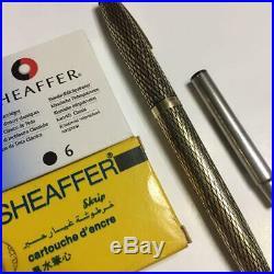 SHEAFFER Sterling Silver Fountain Pen 14k Nib