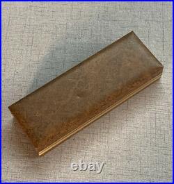 SHEAFFER TARGA 1006 FOUNTAIN PEN IN STERLING SILVER 14K GOLD NIB In Original Box