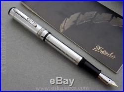 STIPULA Florentia Aurea Limited Edition #867/1971 Sterling Silver Fountain Pen F