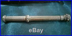 Sampson mordan 1833 sterling silver propelling pencil