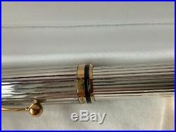 Sheaffer Connaisseur 823 Sterling Silver Fountain Pen USA