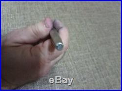 Sheaffer Imperial Sterling Silver Diamond Fountain Pen 14kt Broad Nib 1970s