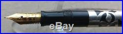 Sheaffer Nostalgia 800 Black & Sterling Silver 925 18K 750 Nib Fountain Pen