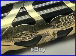 Sheaffer Nostalgia Vermeil 925 Sterling Silver Overlay 14K Gold Nib Fountain Pen