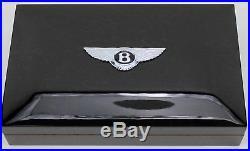 Tibaldi By Montegrappa For Bentley Mulsanne Burr Walnut Sterling Silver 44/90