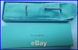 Tiffany & Co. Paloma Picasso Sterling Silver Pen Excellent In Box Germany