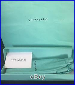 Tiffany & Co. Sterling Silver Ball Point Pen Executive T Clip with box and bag